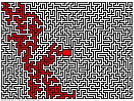 Maze 2016 11 04, solution by Norski