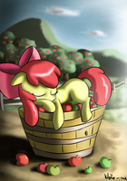 Applesleep by Neko-me