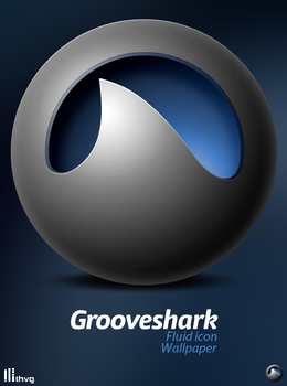 Grooveshark Icon + Wall by Thvg