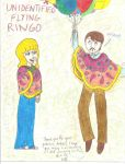 Request - Amber and Ringo In Ponchos by girlwitharubbersoul