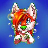 bubble badges by PickleMittens
