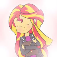 Your friend, Sunset Shimmer by AkakunDA