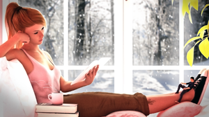Winter Read by TheVestige