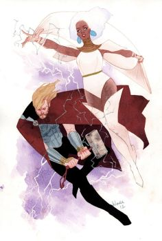 DUETS: Thor and Storm by kevinwada
