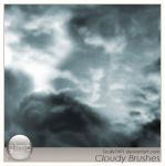 Cloudy Brushes version Gimp by Scully7491