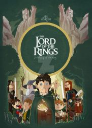 Fellowship of the Ring by rsienicki