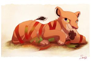 Tangled in Ribbon - Commission by Shembre