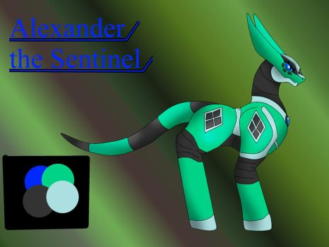 Alexander the Sentinel by pd123sonic