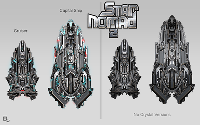 Star Nomad 2 New Ships by ameshin
