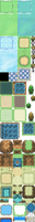 RPG Maker XP friendly tileset Version 3 outdoor by dirtywiggles