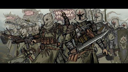 Downfall - cultists sketch by TheDrowningEarth