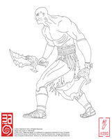 Kratos by Makintosh91