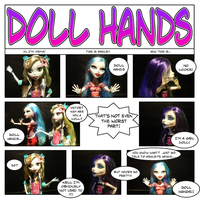 Doll Hands by DisposableMutt