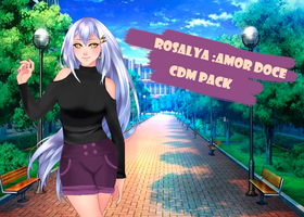 Rosalya--Amor Doce--CDM pack clothes by Helyra