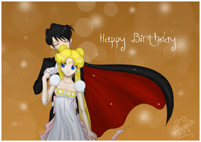 GIFT Sailor Moon x Tuxedo Mask by Frog-of-Rock