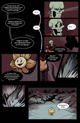 Flowey Is Not a Good Life Coach - Chap. 2, page 4 by fluffySlipper