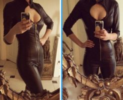 Finished my Bayonetta Catsuit! by Beaupeep101