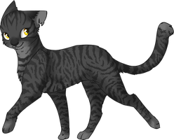 Thornpaw by MysticMistSong