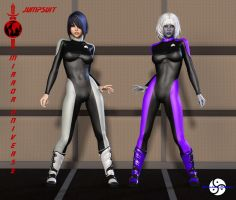 Mirror Universe Jumpsuit part 2 by ShadowhawkOne