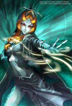 Midna - Legend of Zelda by nayuki-chan