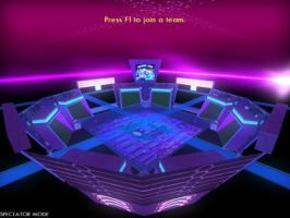 Arena 5 - TRON 2.0 Custom Fan-Made LC Map by redrain85