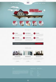 PFT Windows website design by djonas3
