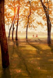 The days of the long shadows. by PascalCampion