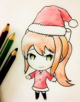 Monika - Happy Holidays! by TruiArts
