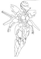 Orbital Frame Neith by PhantasmaStriker