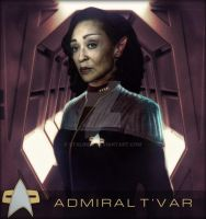 Admiral T'Var in Late 2374 Early 2375 by StalinDC