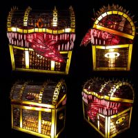 Stained Glass Mimic Lamp by DarkeVitrum
