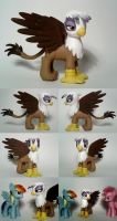 Gilda Custom G4 'Pony' Griffin by Oak23