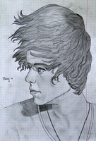Harry Styles (with too big head) by YummyBiscuit