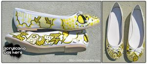 Buzz Buzz Shoes by marywinkler