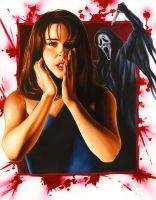SCREAM: Sidney Prescott by smlshin