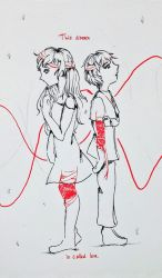 Red String of Fate by CsavarNat16