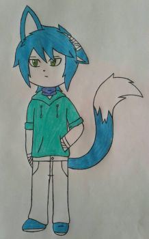 Ryuto fox oc by Lobita02