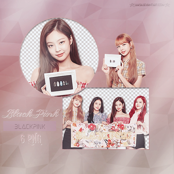 BLACKPINK 6 PNG PACK #37 by liaksia by liaksia