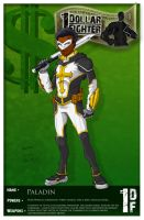 One Dollar Fighter - Paladin by genekelly
