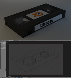 Super low poly vhs tape by cshep99