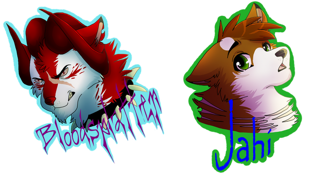 Badges! by Mana-ghostwolf