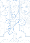Invincible Fake Cover Pencils by BouncieD
