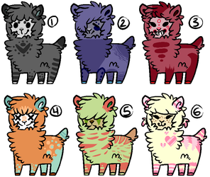 .: Alpaca Adopts //CLOSED// :. by carnazzo