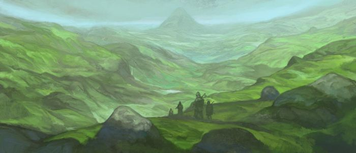 The Northern Dalelands by JonHodgson