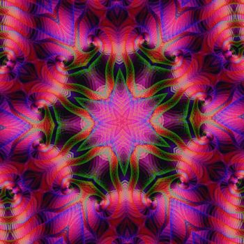 animated kaleidoscope text by photocomix-resources