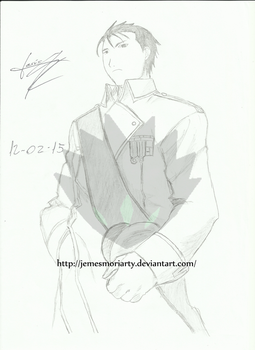 JemesMoriarty 2 0 Roy Mustang By Lord Tower For IsmaPkm