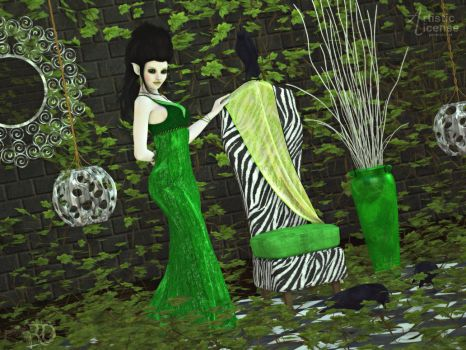 Eccentricities of The Forest Lady by RavenMoonDesigns