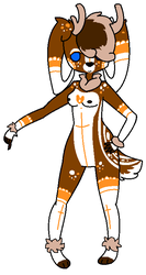 Anthro deer adopt OTA (open) by Sweetnfluffy-adopts