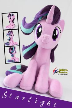 Starlight Glimmer plush 3 by nekokevin