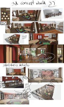 Somryd Alps concepts of the tavern by Maro-King